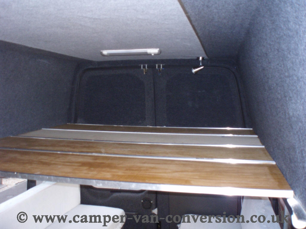 Camper Van Conversion Bed Construction
